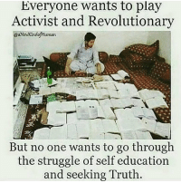 "Africa, Definitely, and England: Everyone wants to play  Activist and Revolutionary  But no one wants to go through  the struggle of self education  and seeking Truth Btw, I don't always make the memes, it's the captions that capture the imagination. People ask me everyday what books I read, as I won't debate with people on racism, or holistic nutrition, if they have read no books on the subject and just have opinions via the news and their poor education of the dichotomy. It's always the poorly educated and those who feel the most subconscious guilt who are the most in denial, but guilt helps nobody, you didn't create racism, yet some do benefit from it today. Learn about it and destroy it. I think it's useful to be able to stand up with ""thugs"" or debate with scholars. Many opinions on Race (original acronym definition The Royal African Company of England, this was created during European enslavement of Africans) but not so much reading of books with African authors will leave the Africans frustrated-apathetic and the Europeans feeling guilty-apathetic and there is really no need. All of this psychology has been created. Here is my reading list, please share :) How Europe underdeveloped Africa by Walter Rodney Black skin white masks by frantz fanon The spirit of intimacy by Sobonfu some African holistic health by Dr Llaila o Afrika Nutricide by Dr Llaila o Afrika Handbook for raising black children, A comprehensive holistic guide by Dr Llaila o Afrika The African origin of civilisation by Cheikh Anta diop The destruction of black civilisation by Chancellor Williams Dead Aid By Dambisa Moyo Two thousand seasons By Ayi kwei Armah Staying power by Peter fryer The Indian Slave trade by Alan Gallay The legacy of Arab-Islam in Africa by John Alembillah Azumah Behold a pale horse by Milton William Cooper Medical Apartheid by Harriet A Washington The new Jim Crow: mass incarceration in the age of colorblindness by Michelle Alexander chakabars"