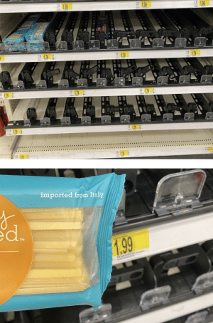 Everyone was panic buying spaghetti. I was wondering while only one brand was left: Everyone was panic buying spaghetti. I was wondering while only one brand was left