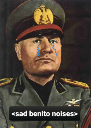 Everyone with the Italy dolphins and Hitler memes meanwhile this guy...: Everyone with the Italy dolphins and Hitler memes meanwhile this guy...