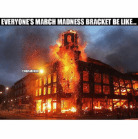 March Madness, Nba, and Terminator: EVERYONES MARCH MADNESS BRACKET BELIKE...  @NBAMEMES terminated