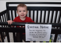 As house prices in central London soared, many civilians faced eviction, (2016): Eviction Notice  You are reguired to  vacate the premises within  28 weeks as a new te nant  is expected to move in on  September 4只2014  Sincerely.  MoM t Dad As house prices in central London soared, many civilians faced eviction, (2016)