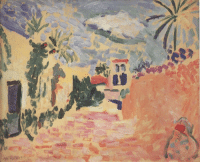 Tumblr, Blog, and Http: evokesart:  Henri Matisse - Street at Biskra, 1906