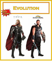 From @q8.comic - Thor's evolution, Thor is so different now, I like his new haircut but i think his old suit is way better!: EVOLUTION  COMIC  THOR  RAGNAROK From @q8.comic - Thor's evolution, Thor is so different now, I like his new haircut but i think his old suit is way better!