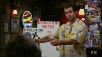Tumblr, Blog, and Evolution: EVOLUTION  METER  EVOLUTION  VS.  FX playboimansion:  Science is a liar (Sometimes)