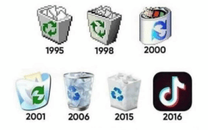 Evolution of recycle bin: Evolution of recycle bin
