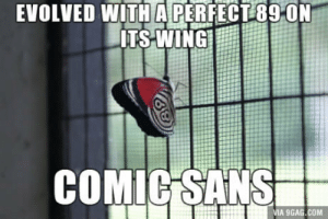 9gag, Com, and Via: EVOLVED WITH A PERFECT89 0N  LITS WING  COMICİSANS  VIA 9GAG.COM