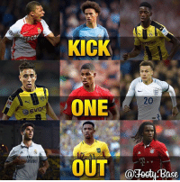 Kick One Out Youngsters Edition 😈 Comment the youngster you think has the LEAST potential, the biggest talent will remain 🔥 Follow me @iamtrollfutbol for more! ❤️: Evon  CSE  irat  KICK  ONE  OUT  Ca3octy ase Kick One Out Youngsters Edition 😈 Comment the youngster you think has the LEAST potential, the biggest talent will remain 🔥 Follow me @iamtrollfutbol for more! ❤️