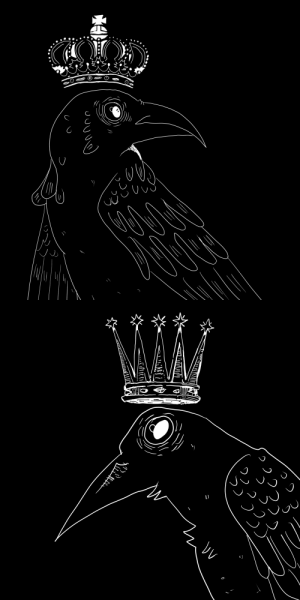 Tumblr, Blog, and Http: evryn-arden:crowned crows