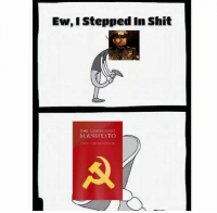 Ew, I Stepped in Shit  THE  MUNIST  MANIFESTO Expect only memes made in MS Paint as for some reason I can't find anything made after 1945...