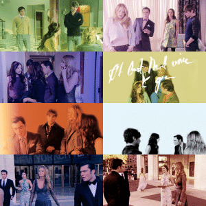 possitivetension:  varietyofwords asked: Gossip Girl + NJBC (in complementary colors) : EW YORKCH possitivetension:  varietyofwords asked: Gossip Girl + NJBC (in complementary colors)