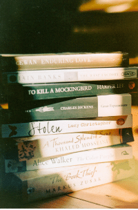 To Kill a Mockingbird, Charles Dickens, and Harper Lee: EWAN ENDURING EO  TO KILL A MOCKINGBIRD HARPER LEE  iCS  CHARLES DICKENS  Great Expectations  en Luey Christopher  housand Splen  KHALED HOSSEIN  Alice Walker  TeC