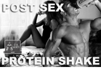 Tein, Shake, and Gyms: EX  RG TEIN SHAKE Gotta replenish those muscles. 