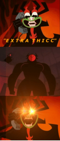 """<p>Samurai Jack memes can only go up in value as the new season airs! Buy now before more episodes air and fuel new memes for maximum profit! via /r/MemeEconomy <a href=""""http://ift.tt/2n4OZO4"""">http://ift.tt/2n4OZO4</a></p>: """"EX TRA THICC"""" <p>Samurai Jack memes can only go up in value as the new season airs! Buy now before more episodes air and fuel new memes for maximum profit! via /r/MemeEconomy <a href=""""http://ift.tt/2n4OZO4"""">http://ift.tt/2n4OZO4</a></p>"""