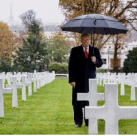 Exactly 100 years ago today, on November 11th, 1918, World War I came to an end. Thank God. It was a brutal war. Millions of American, French, and Allied troops had fought with the extraordinary skill and valor in one of the bloodiest conflicts in human history.  We are gathered together, at this hallowed resting place, to pay tribute to the brave Americans who gave their last breath in that mighty struggle: https://www.whitehouse.gov/briefings-statements/remarks-president-trump-american-commemoration-ceremony-hosted-secretary-american-battle-monuments-commission/: Exactly 100 years ago today, on November 11th, 1918, World War I came to an end. Thank God. It was a brutal war. Millions of American, French, and Allied troops had fought with the extraordinary skill and valor in one of the bloodiest conflicts in human history.  We are gathered together, at this hallowed resting place, to pay tribute to the brave Americans who gave their last breath in that mighty struggle: https://www.whitehouse.gov/briefings-statements/remarks-president-trump-american-commemoration-ceremony-hosted-secretary-american-battle-monuments-commission/