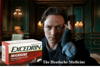 """Target, Tumblr, and Blog: EXCEDRIN  MIGRAINE  The Headache Medicine  24 <p><a href=""""http://avengersmemes.tumblr.com/post/130363322549/buy-it-now-and-get-an-exclusive-wheelchair"""" class=""""tumblr_blog"""" target=""""_blank"""">avengersmemes</a>:</p>  <blockquote><p>Buy it now and get an exclusive wheelchair Xavier's edition.</p></blockquote>"""