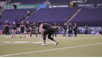 Memes, Smooth, and 🤖: EXCELLENCE  RESILIENCYINT .@minkfitz_21 with the smooth catch in super slo-mo 🔥  #NFLCombine @AlabamaFTBL https://t.co/OFLh39qv4F