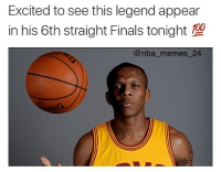 Double Tap for James Jones' 6th straight Finals appearance 💯😂 nbamemes nba_memes_24: Excited to see this legend appear  in his 6th straight Finals tonight  nba memes 24 Double Tap for James Jones' 6th straight Finals appearance 💯😂 nbamemes nba_memes_24