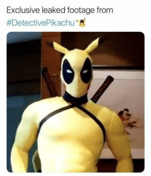 Meme, Pikachu, and Detective: Exclusive leaked footage from  #DetectivePikachu ,急 Detective Pikachu Meme