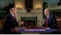 "Bill O'Reilly, Memes, and 🤖: EXCLUSIVE  THE O'REILLY FACTOR: 20 ""It's like a surreal experience in a certain way, but you have to get over it because there's so much work to be done."" President DonaldTrump told Bill O'Reilly what it is like to be president of the United States. oreillyfactor"