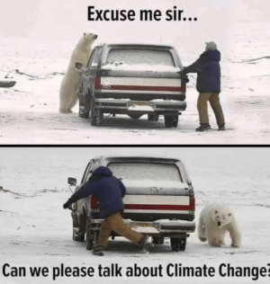Memes, Change, and 🤖: Excuse me sir...  Can we please talk about Climate Change?