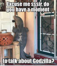 No Solizarding!: Excuse me SSSir do  you have a moment  to talk  about Godzilla No Solizarding!