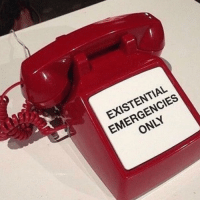 Existential and Only: EXISTENTIAL  EMERGENCIES  ONLY