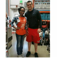 Derek Carr yesterday at Home Depot...good to see em walking around. Not my picture, just reposting for the Raider Nation!: EXIT  Thek Dee Derek Carr yesterday at Home Depot...good to see em walking around. Not my picture, just reposting for the Raider Nation!