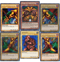 "<p>Yu-Gi-Oh Memes are on the rise. Could be a worthy investment. via /r/MemeEconomy <a href=""http://ift.tt/2jAy5W0"">http://ift.tt/2jAy5W0</a></p>: EXODIA THE FORBIDDEN ONE  RIGHT ARM OF THE FORBIDDEN ONE  LEFT ARM OF THE FORBIDDEN ONE/  Edition  SPELLCASTER/EFFECT  When you have ""Right Leg of the Forbidden One, ""Left  Leg of the Forbidden One, ""Right Arm of the Forbidden  One and Left Arm of the Forbidden One in addition to  this card in your hand, you win the Duel.  1t Edition  SPELLCASTER ]  forbidden right arm sealed by magic. Whosoever  breaks this seal will know infinite power  ISPELLCASTER]  A forbidden left arm sealed by magic. Whosoever  breaks this seal will know infinite power.  ATK/1000 DEF/1000  33396948  01996 KAZUKI TAKAHASHI  ATK/ 200 DEF/ 300  ATK/ 200 DEFI 300  01996 KAZUKI TAKAHASHI  01996 KAZUKI TAKAHASHI  LITTLE D  RIGHT LEG OF THE FORBIDDEN ONE UDARİ  LEFT LEG OF THE FORBIDDEN ONE  I Edition  IDINOSAUR]  Yo, this tyranmosaurus tot's sot a terrible temper.  1t pdition  CYW EN302  t Edition  [SPELLCASTER]  A forbidden right leg sealed by magic. Whosoever  breaks this seal will know infinite power  ISPELLCASTER  A forbidden left leg sealed by magic. Whosoever  breaks this seal will know infinite power  ATK/1I00 DEF/ 700  C1996 K  ATK/ 200 DEF/ 300  ATK/ 200 DEF/ 300  01996 KAZUKI TAKAHASHI  44519536  С 1996 KAZU KI TAKAHASHI <p>Yu-Gi-Oh Memes are on the rise. Could be a worthy investment. via /r/MemeEconomy <a href=""http://ift.tt/2jAy5W0"">http://ift.tt/2jAy5W0</a></p>"