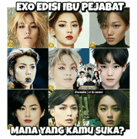 K-Pop, Exo, and Kpop: EXOEDISIIBUPEJABAT  ATRAT  #remake I cr to owner Suka siapa aja gaes? 😂😂 Komen dan tag temen kamu 😂😂 . . c.r.original pict to owner exo exol exomeme kpopmeme kpopmemes kpopmemeindo kpopmemeina exomemeindo kpop dagelan_kpop