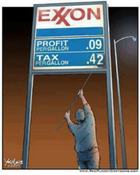 Remember this next time gas prices skyrocket!   Join Us: V is For Voluntary: EXON  PROFIT  09  PER GALLON  PERGALLON  42 Remember this next time gas prices skyrocket!   Join Us: V is For Voluntary