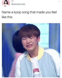 snsd - Into the new world Ballad Version . . . . Credit to owner✌: @exosexuals  Name a kpop song that made you feel  like this snsd - Into the new world Ballad Version . . . . Credit to owner✌