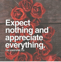Expect  nothing and  appreciate  everything  THE GOOD VIBE CO Namaste Needing nothing attracts everything. Give & you will receive; but don't give just so you think you will receive, give with your heart. Then you will receive 😊🕉💙 AlexTheGuru