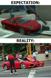 Grand Theft Auto: EXPECTATION:  REALITY Grand Theft Auto