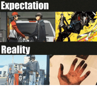 Slight Persona 4 spoilers? Thanks to sensei for showing me this one my dude: Expectation  Reality Slight Persona 4 spoilers? Thanks to sensei for showing me this one my dude