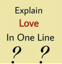 Explain Love In One Line Tag Someone Check Out All Of My Prior Posts