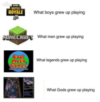 MS Space Cadet was 🔥 via /r/memes http://bit.ly/2MPfrZX: EXPRES  FORTNITE  BATTLE  ROYALE  What boys grew up playing  HECRAF  What men grew up playing  What legends grew up playing  Coolmath-Games.com  3D Pinb  BALL 1  9500  What Gods grew up playing  Plaver 1  Hit Mission  Torgets To  Seleet Mission MS Space Cadet was 🔥 via /r/memes http://bit.ly/2MPfrZX