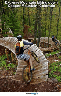 I WOULD LOVE TO TRY THIS! 😍😱: Extreme Mountain biking down  Copper Mountain, Colorado  Talent  Explore I WOULD LOVE TO TRY THIS! 😍😱