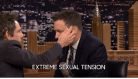 """<p><a href=""""https://www.youtube.com/watch?v=zkESoUBVQDs&amp;list=UU8-Th83bH_thdKZDJCrn88g&amp;index=5"""" target=""""_blank"""">Jimmy and Ben Stiller had a very emotional interview!</a></p><figure data-orig-width=""""500"""" data-orig-height=""""235""""><img src=""""https://78.media.tumblr.com/23cff405434cc0ea530f7734024aace4/tumblr_inline_nlsgseRNiP1qgt12i.gif"""" alt=""""image"""" data-orig-width=""""500"""" data-orig-height=""""235""""/></figure>: EXTREME SEXUAL TENSION <p><a href=""""https://www.youtube.com/watch?v=zkESoUBVQDs&amp;list=UU8-Th83bH_thdKZDJCrn88g&amp;index=5"""" target=""""_blank"""">Jimmy and Ben Stiller had a very emotional interview!</a></p><figure data-orig-width=""""500"""" data-orig-height=""""235""""><img src=""""https://78.media.tumblr.com/23cff405434cc0ea530f7734024aace4/tumblr_inline_nlsgseRNiP1qgt12i.gif"""" alt=""""image"""" data-orig-width=""""500"""" data-orig-height=""""235""""/></figure>"""