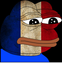 Pepe, Rare Pepe, and French  Extremely rare Pepe waiting for the French  elections 512609641bfd