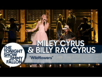 "Fail, Head, and Miley Cyrus: EY CYRUS  HE  ONIGHT  HOW  & BILLY RAY CYRUS  IMMY""Wildflowers""  FALLO <p>I can take or leave New Taylor, but I&rsquo;m feeling New Miley. And I&rsquo;ll be honest I was never a Tom Petty fan. You could put a gun to my head and tell me to name one of his songs and I would probably fail. But this is a lovely tribute.</p>"