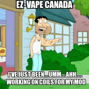 Vapeing: EZ-VAPE CANADA  HVEJUSTBEEN...UMM.AHH  WORKINGON COLS FOR MY MOD