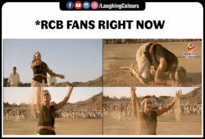 Indianpeoplefacebook, Ipl, and Now: f 0 )/LaughingColours  wRCB FANS RIGHT NOW  LAUGHING #RCB #ViratKohli #RCBvKXIP #IPL