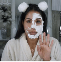 "Food, Fresh, and Lol: F A R A H D H U K A l 😮😶2 INGREDIENTS to SHRINK-TIGHTEN PORES and SKIN! 😮😶 ⛄️DIY BUBBLE FOAM MASK!! Servin some Mrs. Doubtfire realness 😂Ive seen this bubble mask that foams after you apply it onto the skin so I thought I would DIY it... the diy version starts as a foam (because its all natural) but you can feel the bubbles working on your skin.. so SHRINK LARGE PORES and GET HYDRATED, SOFT, SUPER TIGHT skin!! (you know that tight feeling facelift you get when you wear a super tight high ponytail.. thats what this feels like. natural botox lol) 😛DISCLAIMER: try not to eat it! its SO YUMMY!!! 😊I love me some skincare that's good enough to eat! All my bakers out there know whats up!🍰 (yes I know this is a merengue. I love food) 🍦ALL YOU NEED: 🥚EGG WHITES (from one egg) **make sure there is NO YOLK otherwise this wont bubble) 🍬SUGAR (1 tbsp) 🍳-you can do this with JUST egg whites too but I like adding sugar cuz of the amazing benefits it has for your skin! more on that later 🍯WHISK your egg whites and sugar in a ceramic-metal bowl. DO NOT use plastic (it wont foam) .. you can use an electric mixer or whisk it by hand 💪🏾 ❄️Keep whisking until it changes from runny yellowish egg whites to a white thick bubbly foam 🌬Apply the foam to your entire face - you can use a brush to apply it or your CLEAN fingers 🙊Youll feel the bubbles tingling your skin! it kinda tickles and feels really cool! 💦Wash off after 10-15 mins 💥BOOM. TIGHT SKIN. TIGHT PORES. 💸Glycolic Bubble Mask to buy: $54 💵DIY this Glycolic Bubble Mask: Less than $4 😱WHY THIS WORKS:😱 SUGAR: natural form of glycolic acid -makes your skin younger looking and fresh because of cell turnover natural exfoliant (alpha hydroxy acids) -natural humectant = juices your skin up with moisture and traps it in EGG WHITES: high in protein so they help heal the skin and kill acne -helps wrinkles and make the skin appear firmer-tighter -the protein is a natural astringent so it tones your face and soaks up any excess oil and its a ""preservative"" -contain an enzyme called Lysozyme that helps to tighten and shrink pores -helps with skin elasticity @homeabguide diy diyremedies remedies by @farahdhukai"