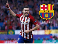 Barcelona, Fail, and Memes: F C B  TRANSFER.TALK Barcelona are keen to sign Atletico Madrid playmaker Saul Niguez if they fail to land Marco Verratti from Paris Saint Germain, according to AS.