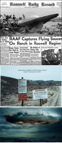 "America, Arguing, and Lol: F Captures Flying Saucer  nanhn Roswell Region  Courts Martial  Passes  Cen  No Details of xKng Ceal Weds Yme, Lupes  Disk  Are Revealed   Warning signs at entrance to Restricted Area on Groom  Lake Rd. Photo taken on 3120/93  WARNING  Resiricted Area  WARNING  US. Air Farce Instalilabo  WARNING  MILITARY INSTALLATION  PHOTOGRAPHY  OF THIS AREA  IS PROHIBITED  815 785 <p><a class=""tumblr_blog"" href=""http://lol-coaster.tumblr.com/post/146904931462"">lol-coaster</a>:</p> <blockquote> <h2><a href=""http://paperpencilwriteup.com/ufo-vacation-destinations.html"">  UFO Vacation Destinations</a></h2> <p>Believers' would argue that anywhere on the planet is a possible ET or UFO meeting place, but surely some are more famous than others. Ripe with compelling stories and legends, North America will be my focus today. Any UFO or ET enthusiast will enjoy a stop at any of these out-of-this world vacation destinations.</p> <p><a href=""http://paperpencilwriteup.com/ufo-vacation-destinations.html"">http://paperpencilwriteup.com/ufo-vacation-destinations.html</a><br/></p> </blockquote>"