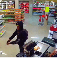 Cowboy stops armed robbery: f Carnes Cares  Mdnterrey. Mexico Cowboy stops armed robbery