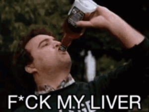 Fuck, Fuck It, and Job: F*CK MYLIVER Trolls, I'm starting a new job next week, all my medical tests are done, and tonight I drink in celebration because fuck it why not.
