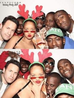 Party, Target, and Tumblr: F E N TY C O R P   O R rihannainfinity:FENTY CORP HOLIDAY PARTY