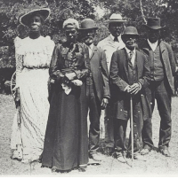 """Black Lives Matter, Memes, and Racism: f/  ew """"Today is Juneteenth, a day commemorating the announcement of the end of slavery in the U.S. While the Emancipation Proclamation was signed in 1863, it took years for all states to officially adopt the proclamation. Texas was the last state in the Confederacy to do so. This photo (via Austin History Center, Austin Public Library) is from a 1900 Juneteenth celebration in Texas. Happy Independence and Emancipation Day! • IMAGE DESCRIPTION: Black-and-white photo. Four Black men and two Black women in early 20th Century dress face the camera. Their expressions are serious, they hold themselves with dignity. """" Repost @womensmarch juneteenth slavery blacklivesmatter racism institutionalizedracism massincarceration civilrights humanrights racist whitesupremacy blackpride"""