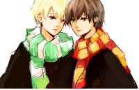 /f Such a cute Drarry picture :D  *Loony*